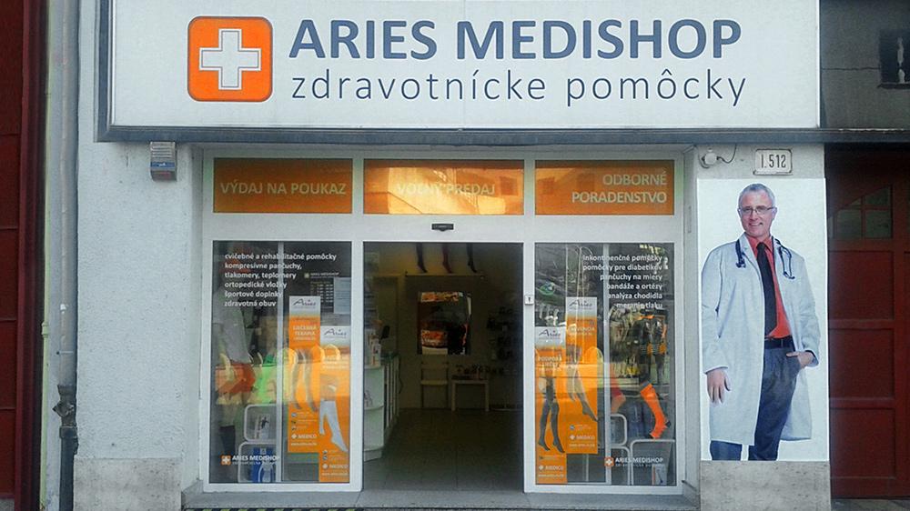 649c9f0e8111 Výdajňa Bratislava - Výdajne ARIES MEDISHOP zdravotnícke pomôcky ...