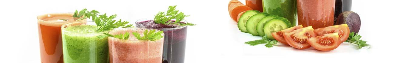 Ovocné a zeleninové šťavy, vody