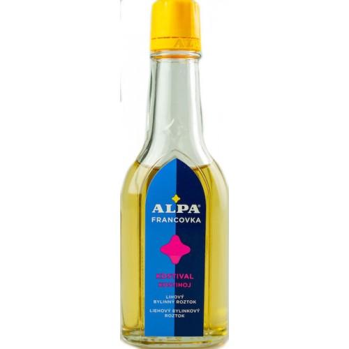 Alpa francovka kostihoj bylinný liehový roztok 60 ml