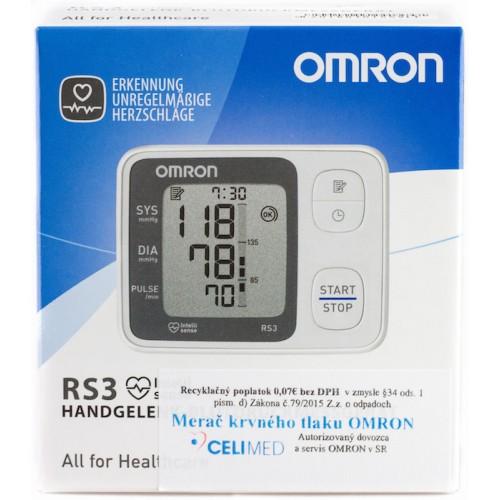 Tlakomer OMRON RS3