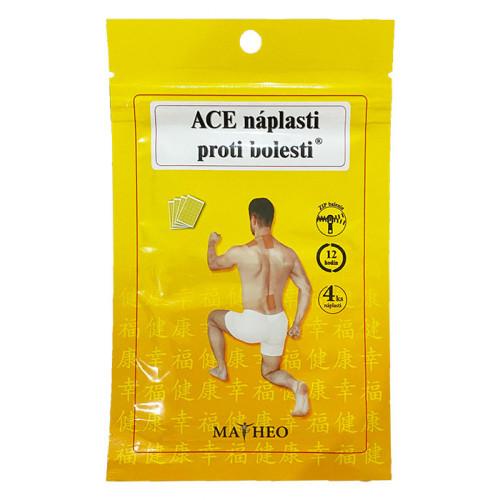 ACE náplasť proti bolesti 4 ks