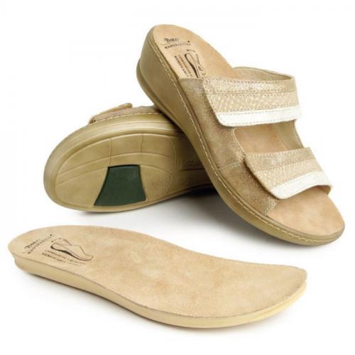 Batz dámske zdravotné šľapky Hedi Gold