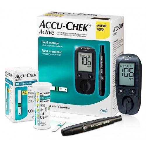Glukomer ACCU-CHEK Active Kit