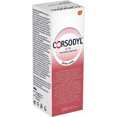 CORSODYL 0,1% 200 ml