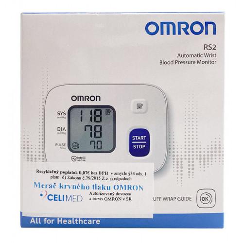 Zápästný tlakomer OMRON RS2