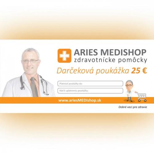 Darčeková poukážka 25 € - S-DARCEKOVA POUKAZKA 25 €