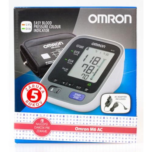 Tlakomer OMRON M6 AC s adaptérom