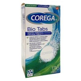 Corega čistiace tablety BIO FORMEL 136 kusov