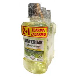 Ústna voda LISTERINE GREEN TEA 2+1 zadarmo