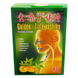 GOLDEN - Zlaté pastilky 12 ks