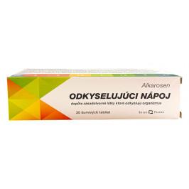 ALKAROSEN - Odkyslujúci nápoj šumivé tablety 1x20 ks