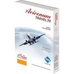 Avicenum TRAVEL 70 - podporné cestovné podkolienky