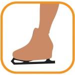 ROYAL BAY® Figure Skating pančuchové nohavice cez korčule