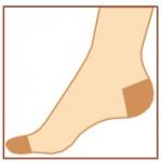 Avicenum 140 - podporné pančuchové nohavice, Sanitized